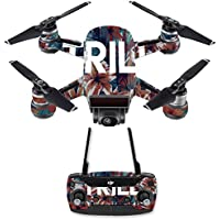 Skin for DJI Spark Mini Drone Combo - Trill| MightySkins Protective, Durable, and Unique Vinyl Decal wrap cover | Easy To Apply, Remove, and Change Styles | Made in the USA