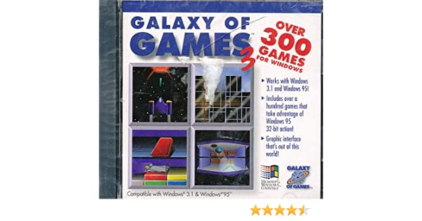 Amazon Galaxy Of Games 3 Software