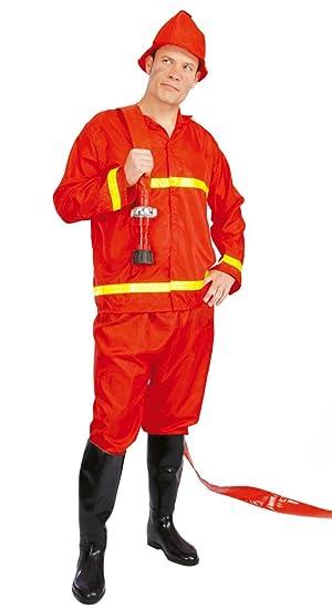 Bombero adultos traje de bomberos: Amazon.es: Juguetes y juegos
