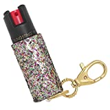 Pepper Spray Keychain for Women - Fashionable & Powerful, Our 10% OC, No Gel Sprays Long Range and is Specifically Designed for Women, Safe, Accessible, Easy to Use, No Accidents, and Refillable