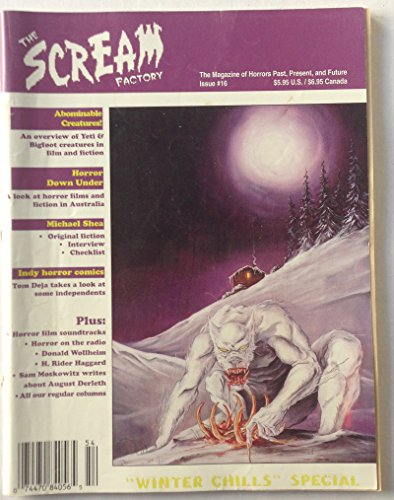 The Scream Factory: The Magazine of Horrors Past, Present, and Future, Issue #16, Winter 1995/6
