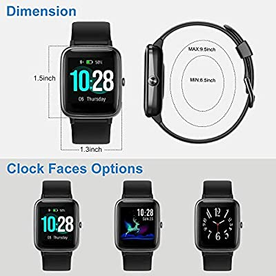 Willful Smart Watch for Android Phones and iOS Phones Compatible iPhone Samsung, IP68 Swimming Waterproof Smartwatch…