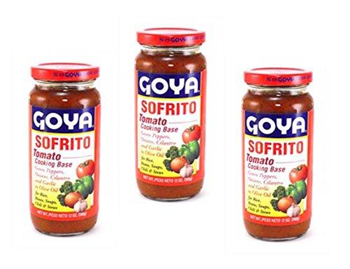 Goya Sofrito - Tomato Cooking Base 12 Oz - 3 Pack
