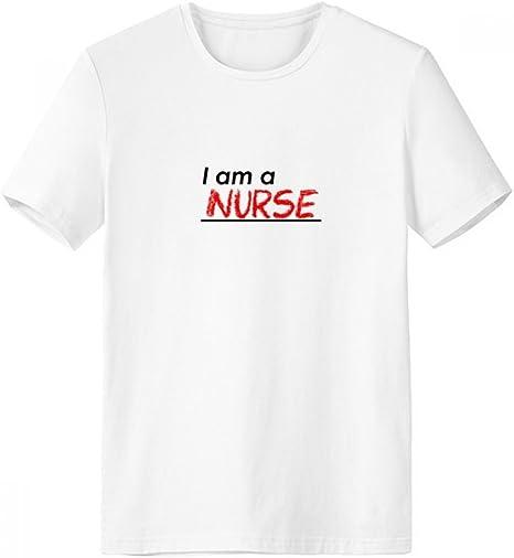 DIYthinker Cita I Am A Escote de la Enfermera Camiseta Blanca de Primavera y Verano de Tagless Comfort Deportes Camisetas de Regalos - Multi - XL: Amazon.es: Deportes y aire libre