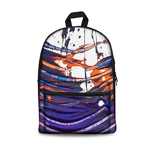 Children backpack 3D Imprimé Sac à Dos D'étudiant Sac School Girl Voyage Corée Sac à Dos pour Les Garçons Et Les Filles…