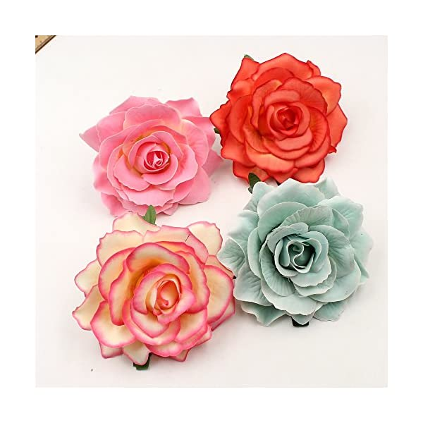 Artificial-Flower-Big-Silk-Blooming-Roses-Head-Wedding-Decoration-DIY-Party-Festival-Home-Decor-Wreath-Gift-Scrapbooking-Craft-Flower-8pcslot-10cm