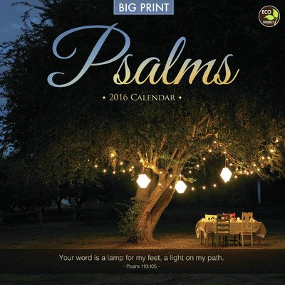 Psalms Wall Calendar by TF Publishing 2016