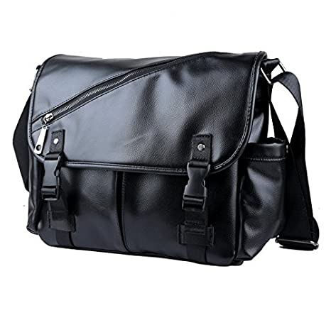 Amazon.com: Jlyifan Black Faux Leahter Carrying Case ...