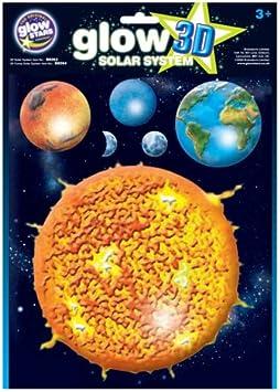 Brainstorm Glow King 1563 - Planetas Fluorescentes en 3D