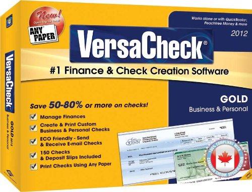 Versa Check Gold Software - 3