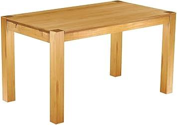 Brasilmöbel Esstisch 140x80 Rio Kanto Honig Pinie Massivholz