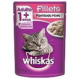 Whiskas Sobres Alimento Húmedo Fillets Parrillada, Mixta, 85 gr