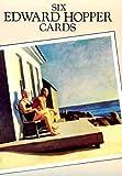 Six Edward Hopper Postcards, Edward Hopper, 0486282872