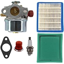 AISEN Carburetor Carb Air Pre Filter Primer Bulb for Tecumseh 640135A 640004 640014 640025 640017 640117 640104 OH195XA OHH50 OHH55 OHH60 OHH65 Engine
