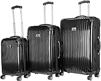 Chariot Paola 3-Piece Hardside Spinner Luggage Set