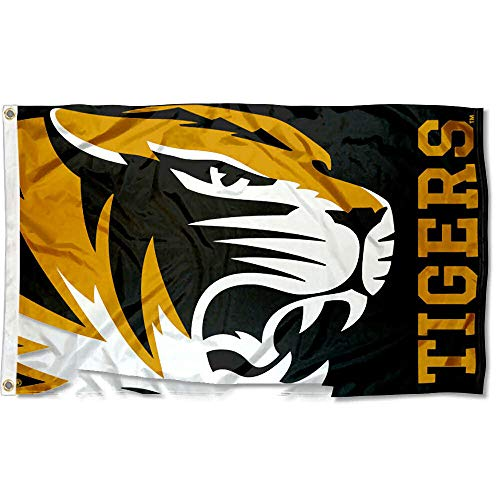 Bold Tigers - College Flags and Banners Co. Missouri Tigers Bold Logo Flag