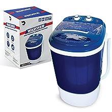 Portable Single Tub Washer And Spin Dryer- The Laundry Alternative- Mini Washing Machine- Portable Clothes Washer And Dryer- Travel Washing Machine- Small Washing Machine For Small Clothes