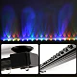 Deckey 12 Inch RGB LED light Underwater LED Aquarium Light Strip & Airstone for Aquarium Fish Tank Flood Lights