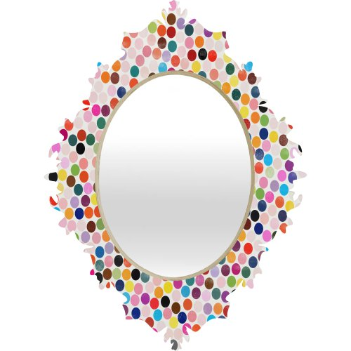 Deny Designs Garima Dhawan Dance 3 Baroque Mirror, 19 x 14 by Deny Designs