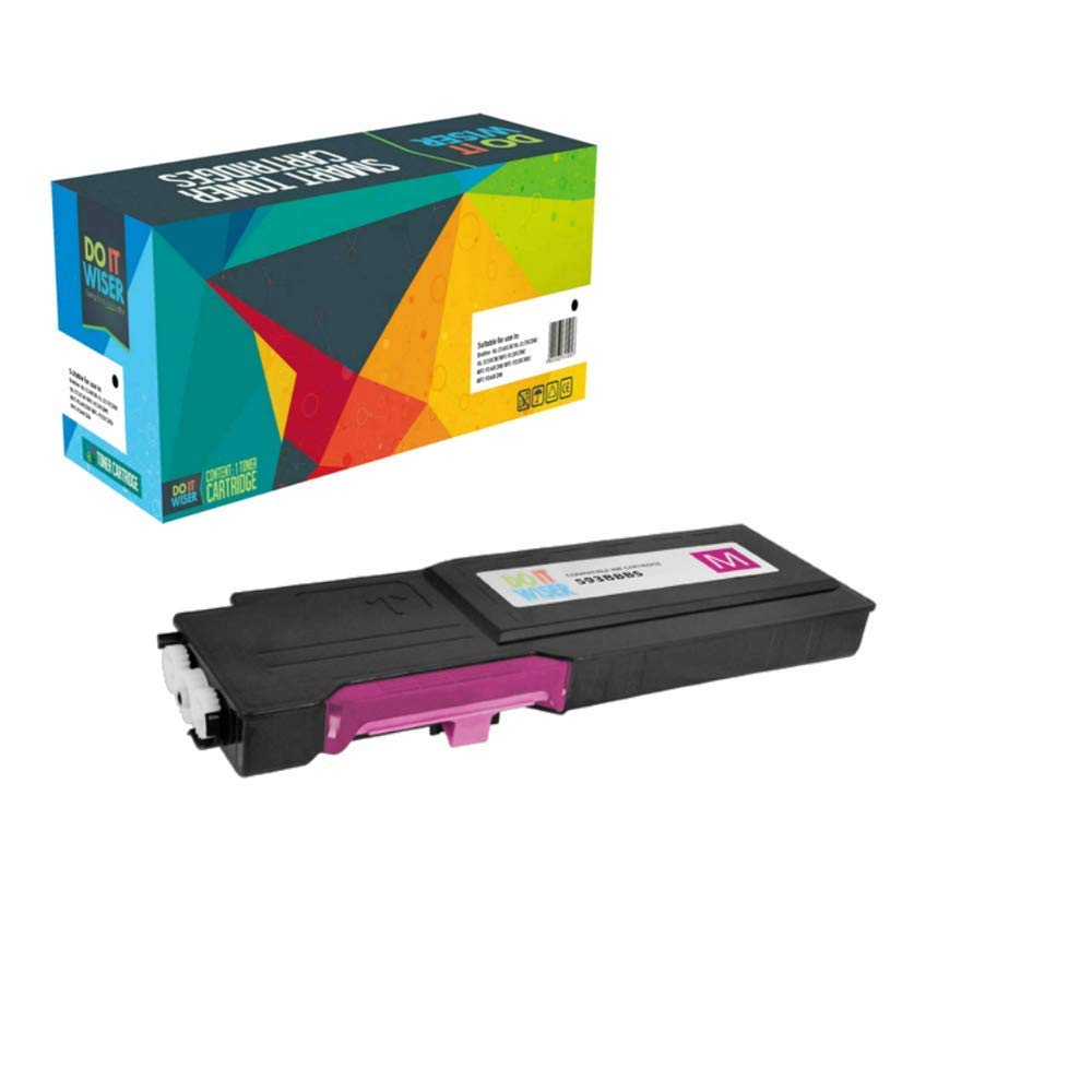 4 PK Toner Cartridge Set for Dell C2660dn C2665dnf C2660 C2665 593-BBBU RD80W