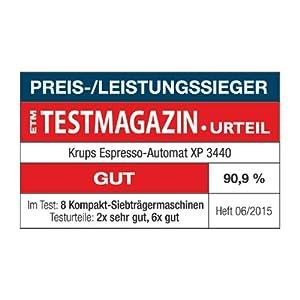 Krups XP3440 Calvi Test mit gut bewertet