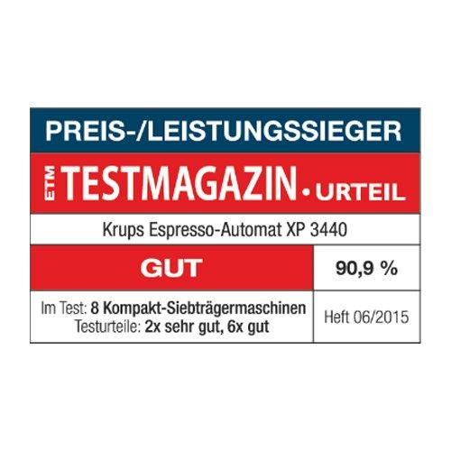 Espresso Siebträgermaschine bis 200 Euro Krups XP3440 Espresso-Automat Calvi