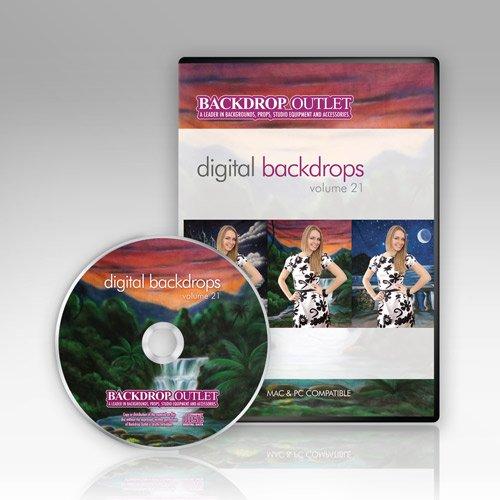 Green Background Images (Digital Backdrops Cd By Backdrop Outlet Green Screen Backgrounds Volume 21 Mac &)