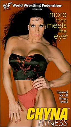 Wwf Chyna Fitness More Than Meets The Eye Vhs