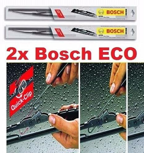 2 x Limpiaparabrisas - 475/600 mm Bosch Eco de Juego: Amazon.es: Coche y moto