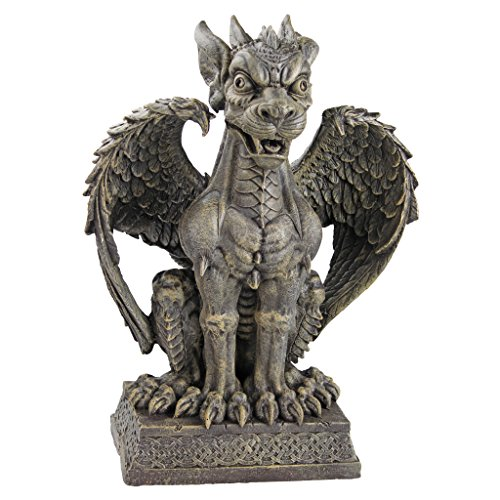 Halloween outdoor gargoyle yard decor best costumes for for Gargoyle decor