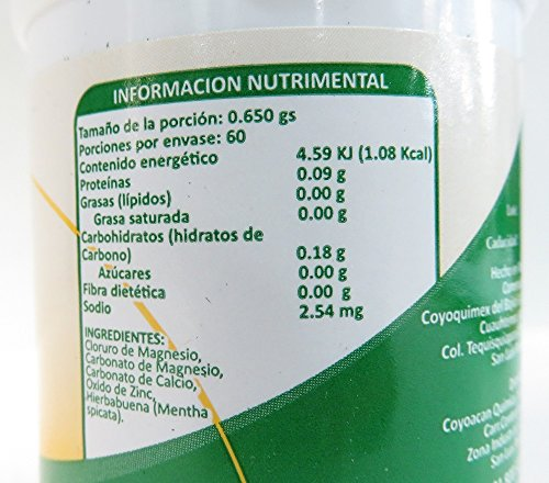 Amazon.com: Cloruro de Magnesio/Magnesium Chloride Bottle with 60 caps: Health & Personal Care