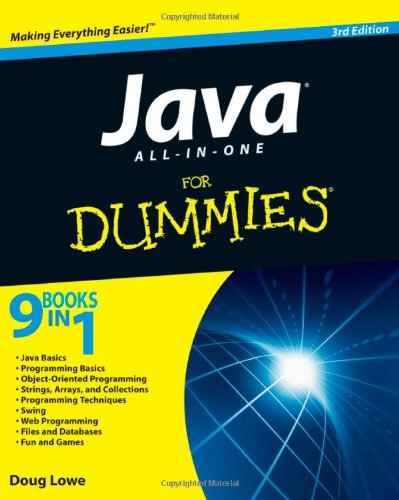 Java All-in-One For Dummies (Best Eclipse Version For Java Web Development)