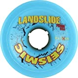 Seismic Landslide 75mm 83a Blue/Yellow Skateboard Wheels (Set Of 4)
