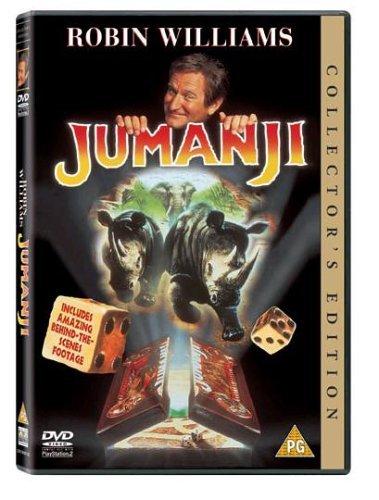 Jumanji Special Edition [DVD] by Robin Williams: Amazon.es: Robin Williams, Jonathan Hyde, Kirsten Dunst, Bradley Pierce, Bonnie Hunt, Joe Johnston: Cine y Series TV