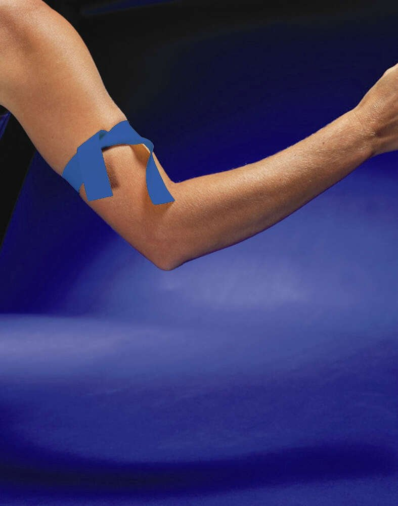 Graham Medical 53829 Latex Free Tourniquet, 1'' Width, 18'' Length, Blue (Pack of 1000)