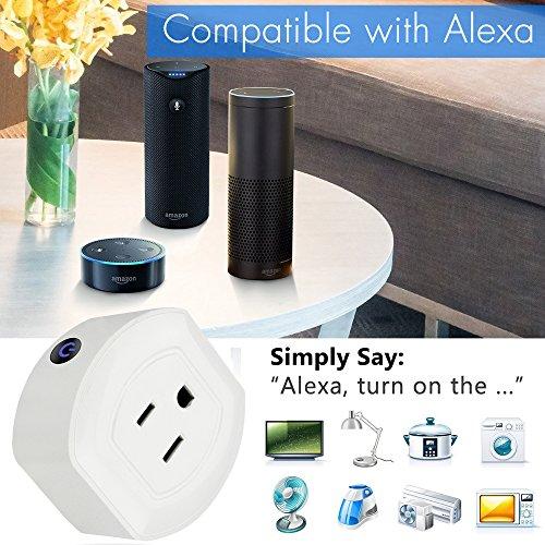 2 Pack Mini Smart Plugs  Quarkware Wifi Enabled Wireless