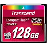 Transcend コンパクトフラッシュカード 128GB 800x 無期限保証 TS128GCF800