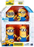 """Despicable Me Minions Movie Minions Deluxe Exclusive 5"""" Action Figure 4-Pack"""