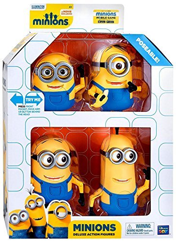 Despicable Me Minions Movie Minions Deluxe Exclusive 5