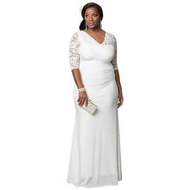 David\'s Bridal Elegant Aisle Plus Size Wedding Gown Style 19150906 ...