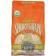 Lundberg Family Farms Organic Short Grain Rice, Brown, 32 Ounce