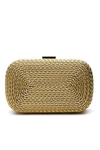Gold Chain Handbag - 5