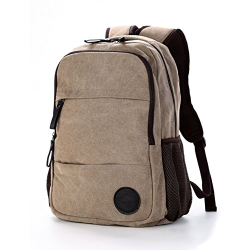 Bag School Computer A Bags a Canvas Backpack Travel Leisure EPqqZgw
