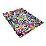Mysky Creative Notre Dame Photo Commemorative Day Comfortable Carpet Home Decor