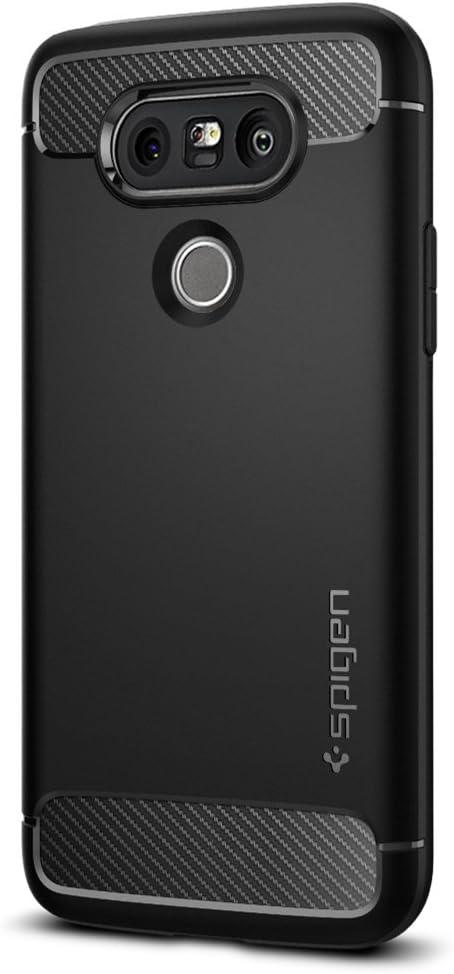 Spigen Rugged Armor Designed for LG G5 Case (2016) - Black