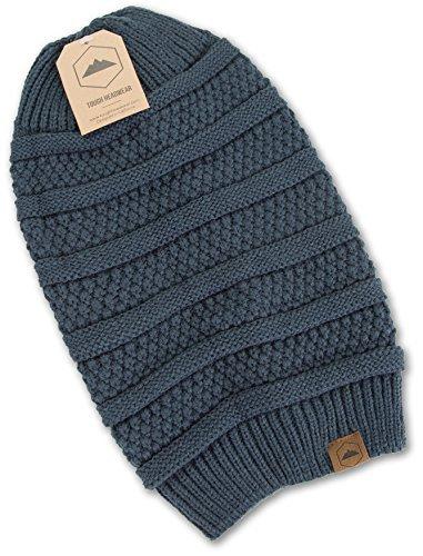 e695acd35a63b Slouchy Cable Knit Beanie - Chunky