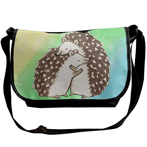 Hedgehog Black Shoulder Women's Casual Hug Handbags Designer Single Satchel Bags Fashion Bag pfrpH4P6q