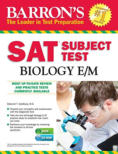 Barron's SAT Subject Test Biology E/M with CD-ROM