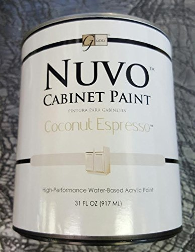 Nuvo Cabinet Paint (Coconut Espresso) Quart by Giani Granite ...