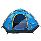 Wnnideo Automatic Instant Pop Up Tent Outdoor 4-5 Person Family Tent for Camping Hiking Travel Beach or in Park and Backyard